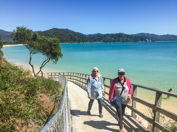 Walking the Abel Tasman track