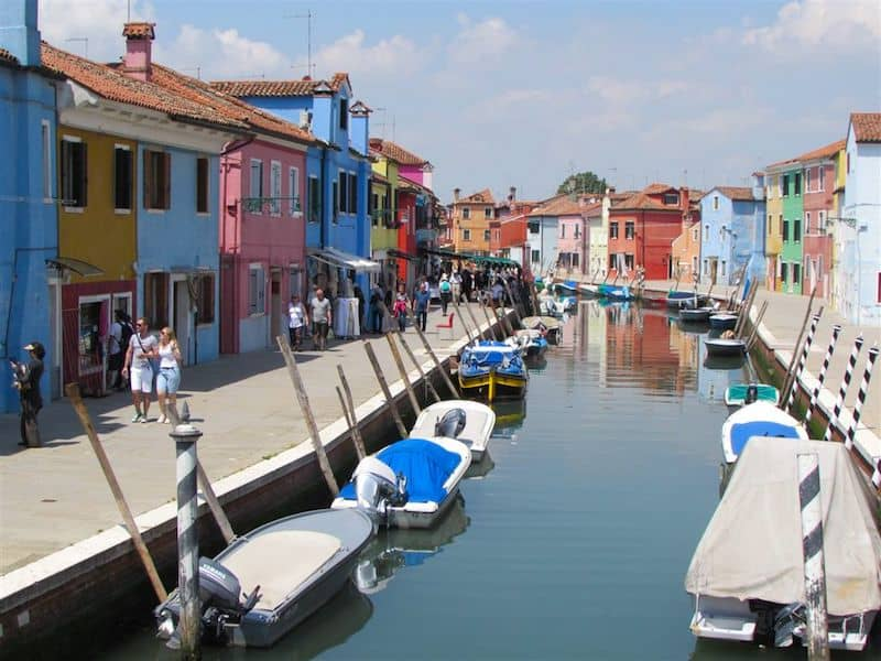 Colorful Burano