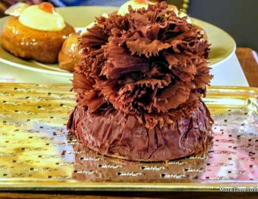 """President"" Bernachon chocolate cake at Paul Bocuse"