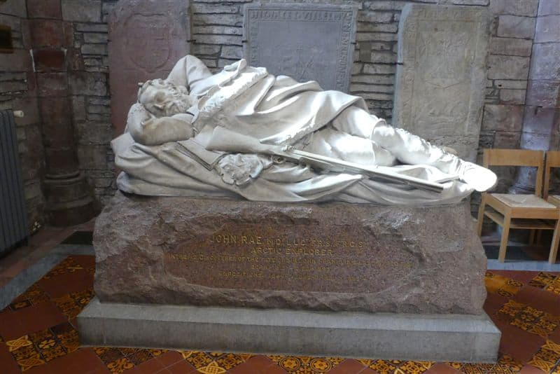 St. Magnus Memorial to John Rae, Arctic Explorer