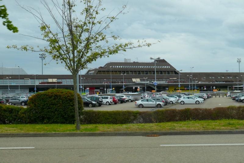 Exterior, Strasbourg Airport (Credit: Jerome Levine)