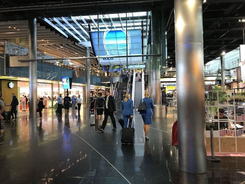 Schiphol is bustling around-the-clock