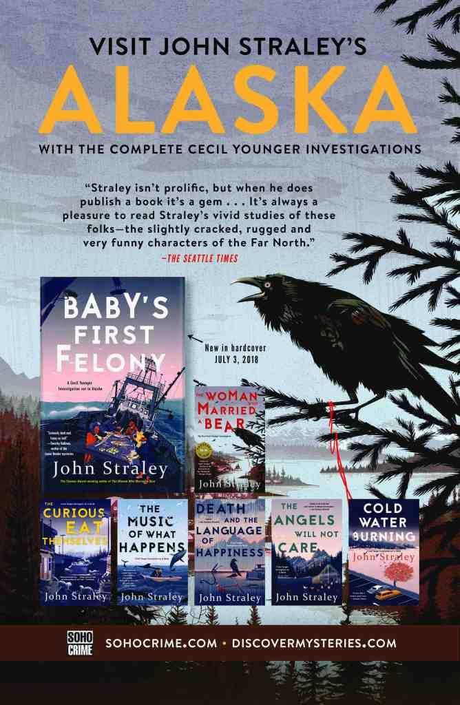 Alaska books by John Straley
