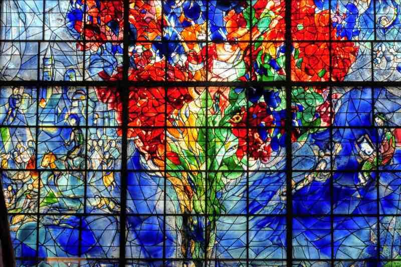 Chagall window in Sarrebourg