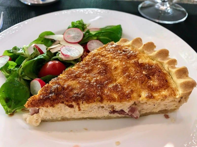 Barge Cruise through Alsace & Lorraine -Quiche Lorraine Lunch aboard Panache