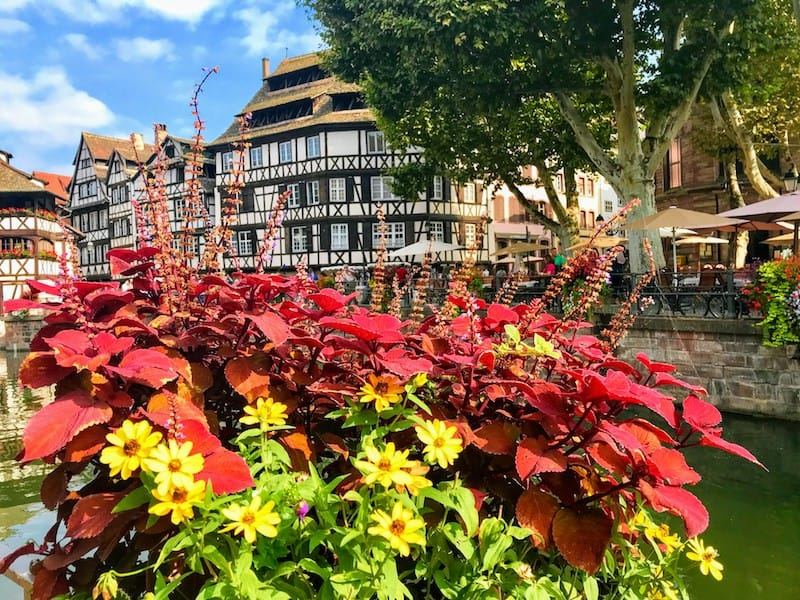 One day in Strasbourg: Half-timbered house in Strasbourg