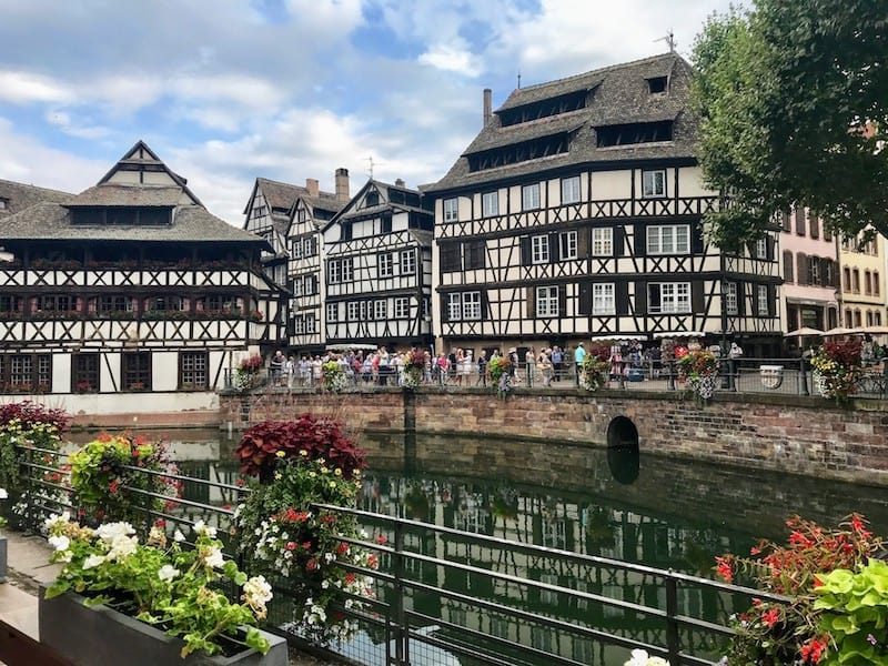 One Day in Strasbourg: Half-timbered buildings of Strasbourg