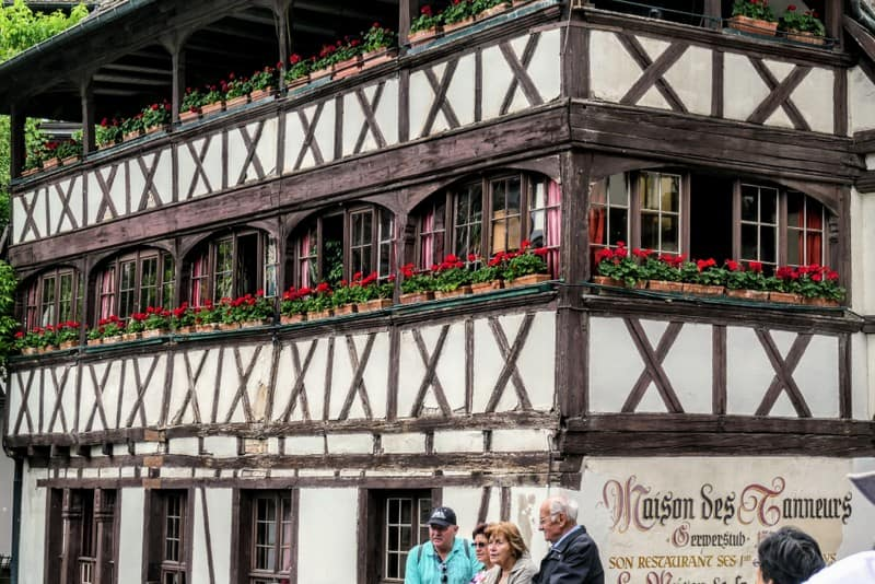 One Day in Strasbourg: Characteristic architecture of Maison des Tanneurs