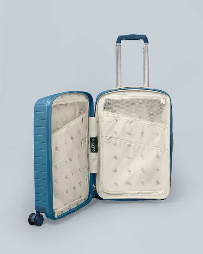 OOD Carry-On (in teal) - Interior Compression System