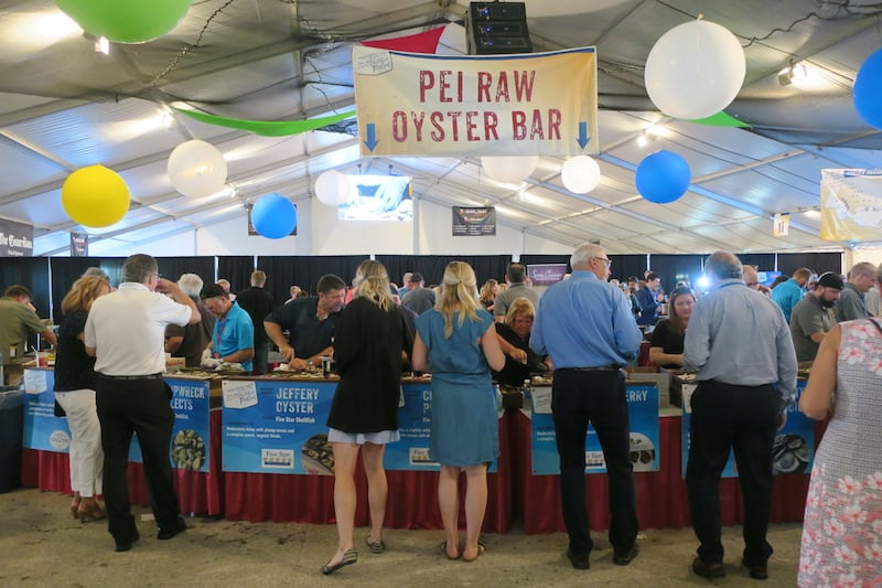 Food Island - World's Largest Oyster Bar with 20 PEI Producers