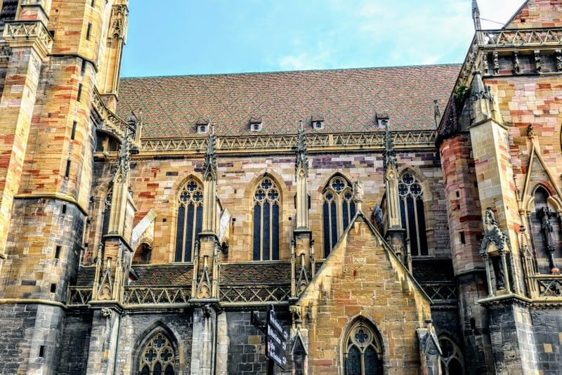 Best Day Trip from Strasbourg- St. Martin's Church in Colmar