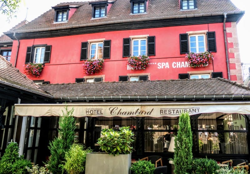 Hotel Chambard, where Anthony Bourdain took his life