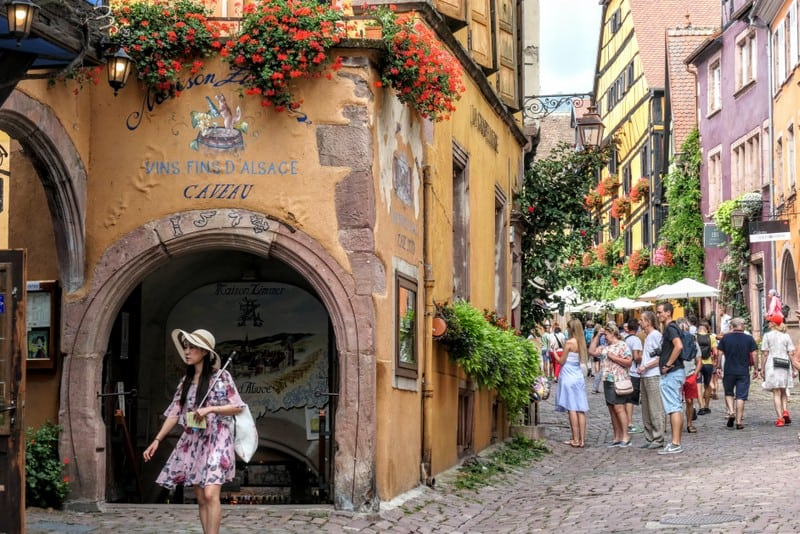 Best Day Trip from Strasbourg - A wine cave in Riquewihr