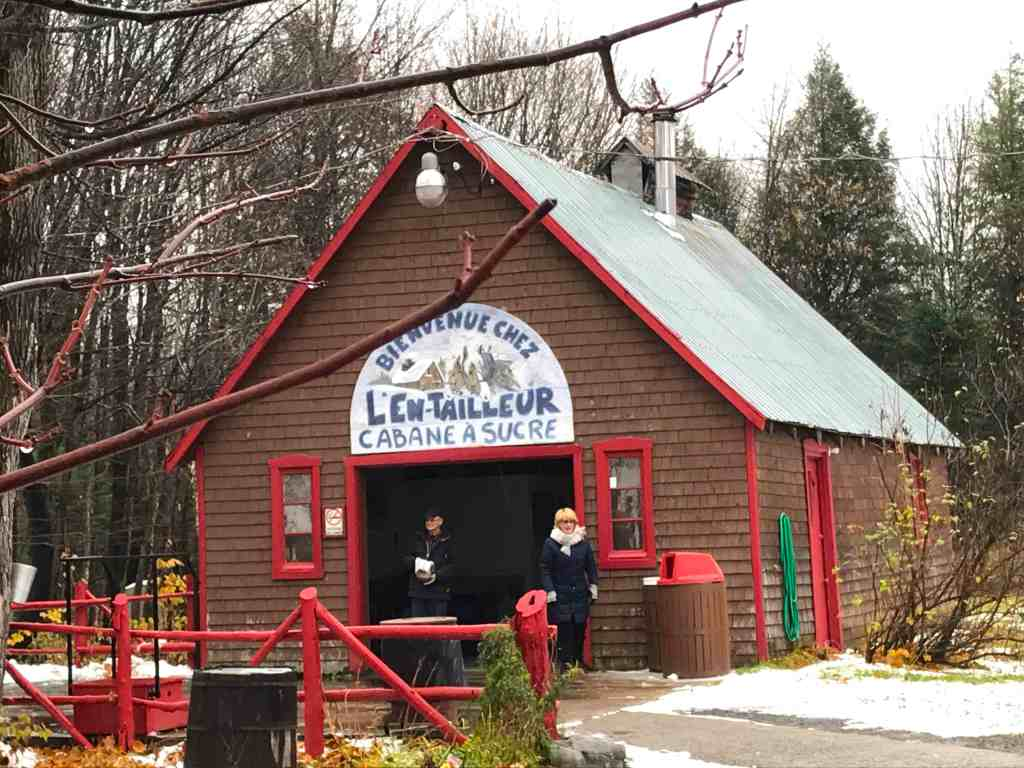 Sugar Shack in Quebec