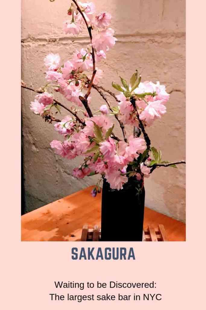 SAGAKURA, THE LARGEST SAKE BAR IN NYC
