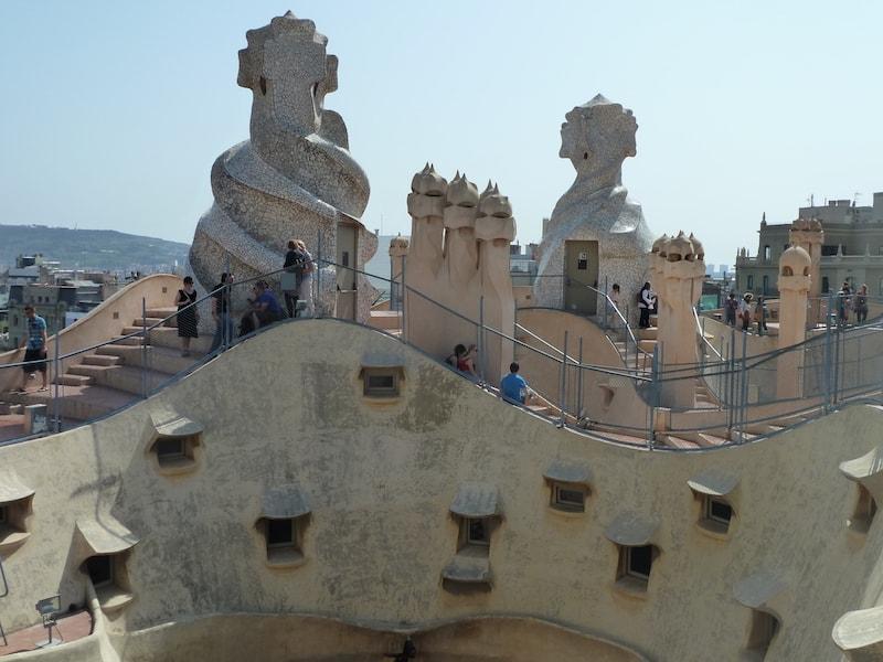 Gaudi architecture in Barcelona (Credit: Andrew Levine)