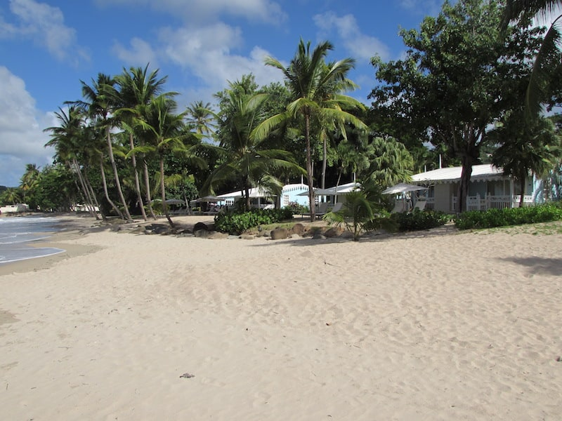 Charming cottages at Rendezvous Resort in Saint Lucia