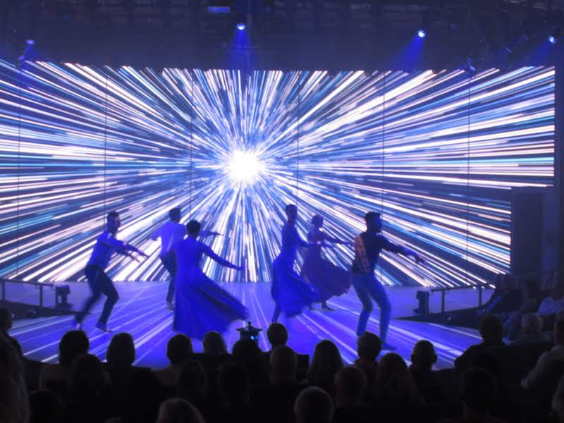 Holland Americas Newest Ship: Six Dancers: Amazing Special Effects