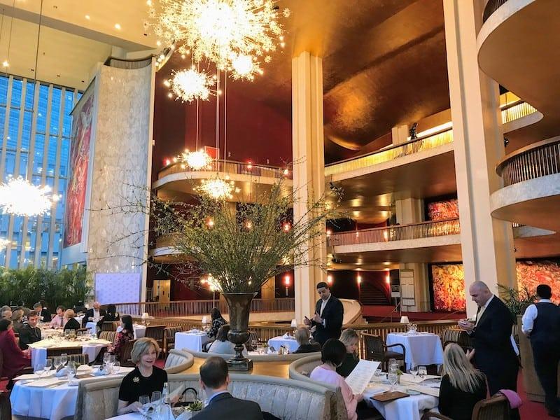 Grand Tier Restaurant at the Met