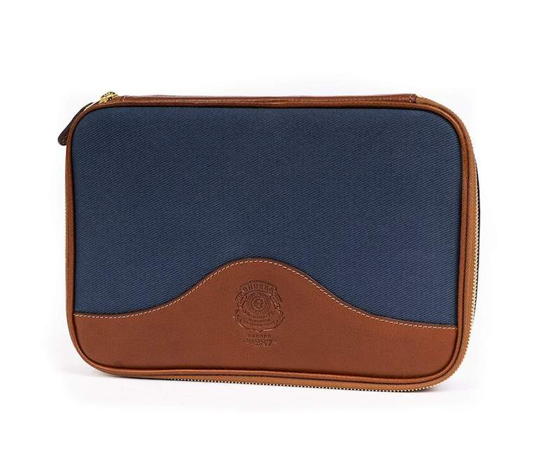 Retailing at over $300, the Ghurka Barber No. 287 Toiletry Bag is a high-end designer Dopp kit