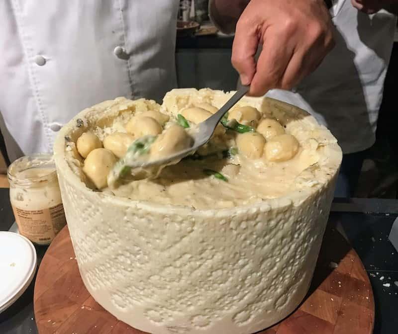 Burrata Gnocchi at the event