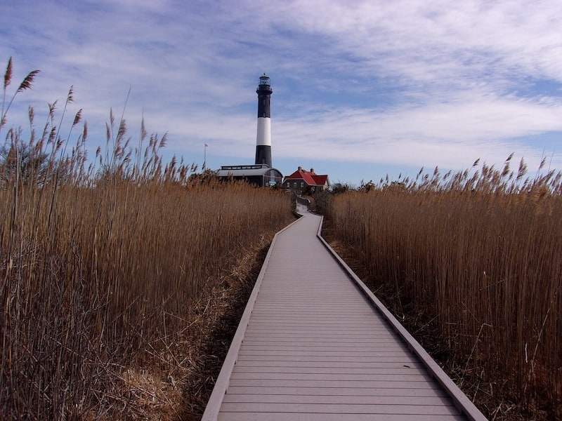 What To Do on Fired Island: The Fire Island Lighthouse (Credit: Pixabay)