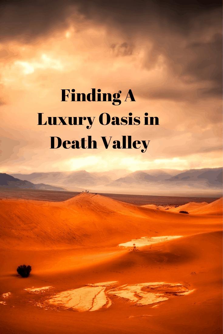 Luxury Oasis in Desert Valley