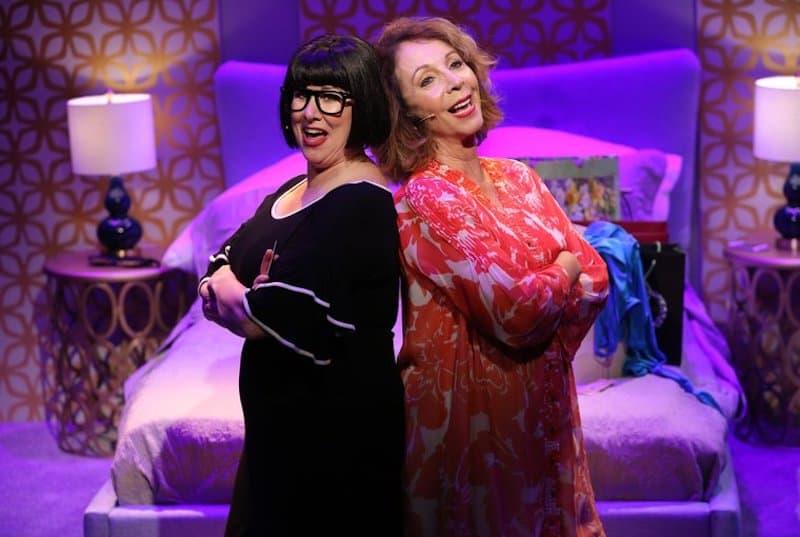 Rita Rudner and Kelly Holden Bashar
