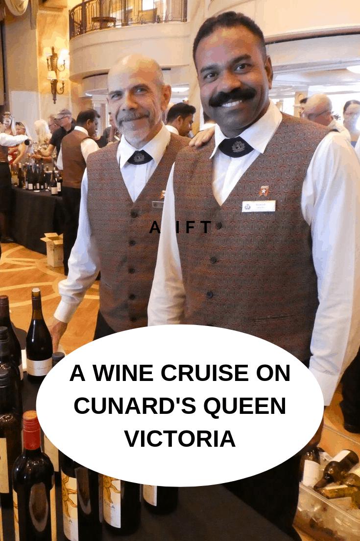 Cunard Voyage du Vin wine cruise