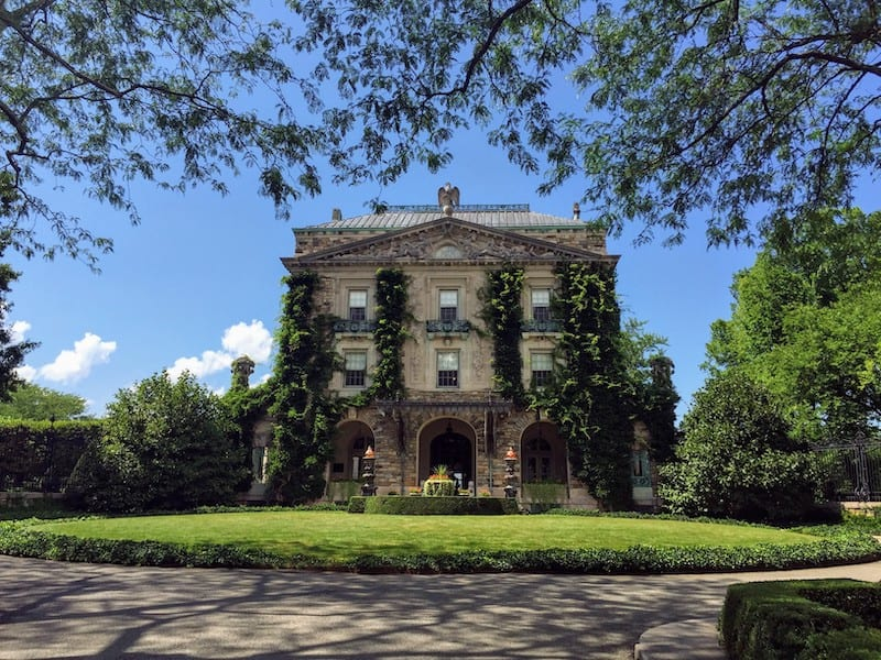 Built on the highest point of land in Pocantico Hills, Kykuit was home to four generations of Rockefellers