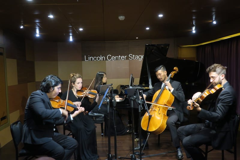 Sailing Eurodam from Vancouver: A dynamic quintet on the Lincoln Center Stage