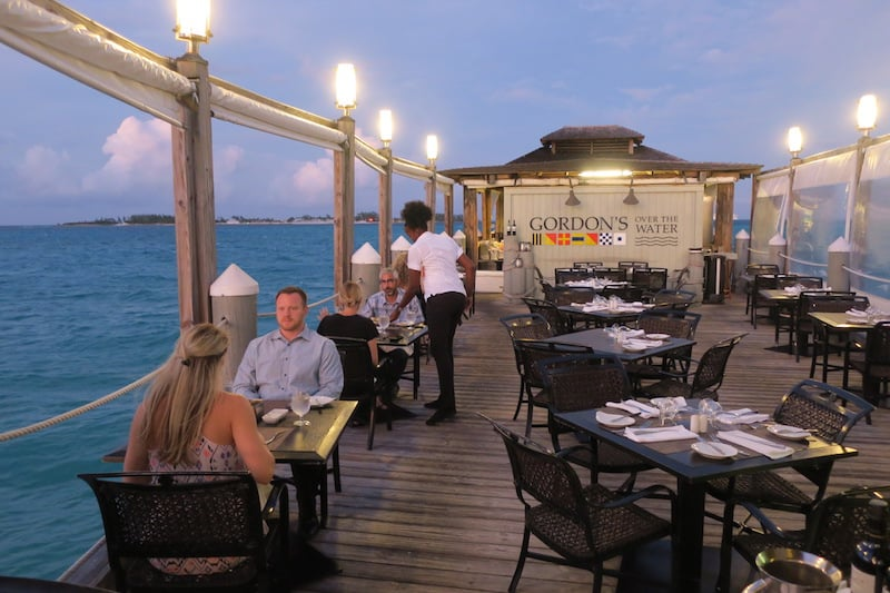 Gordon's Over the Water at Sandals Royal Bahamian: Fine fresh seafood