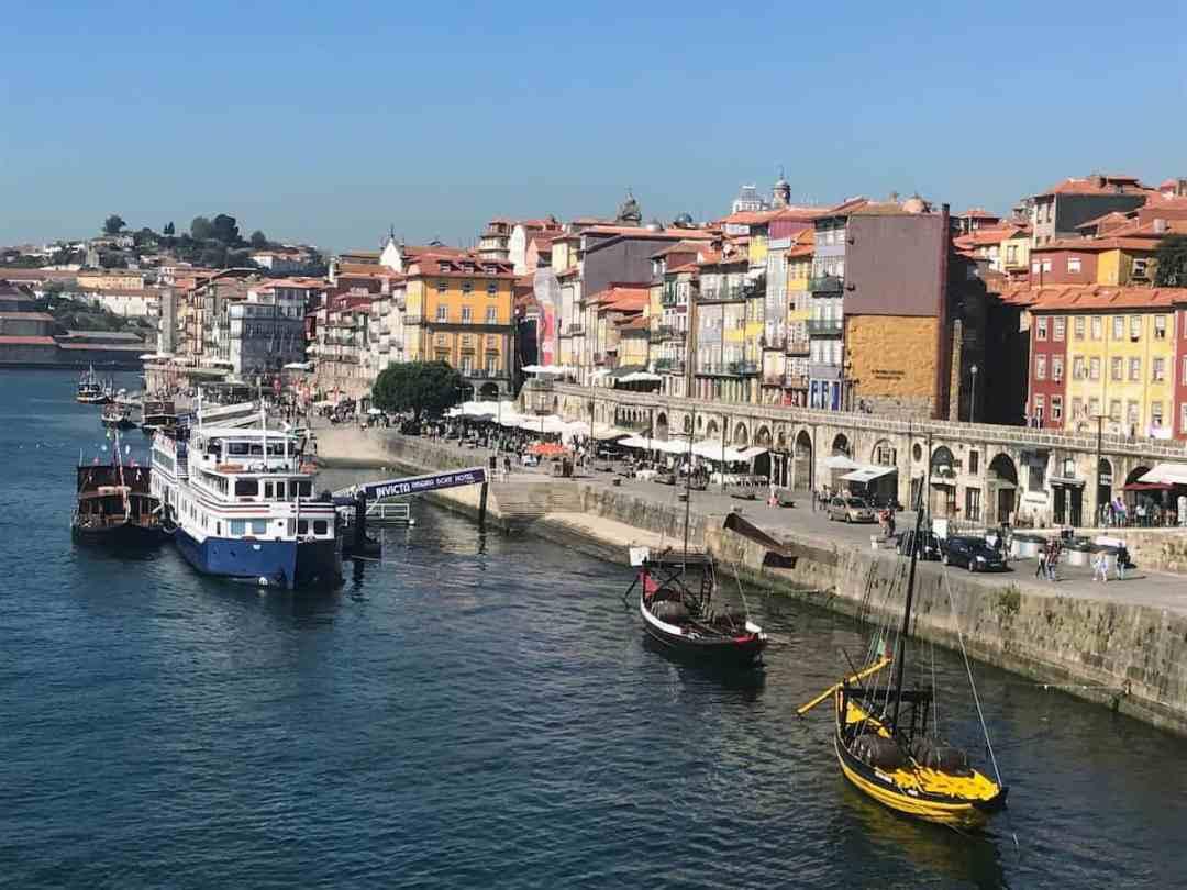 Ribeiro District in Porto, Portugal