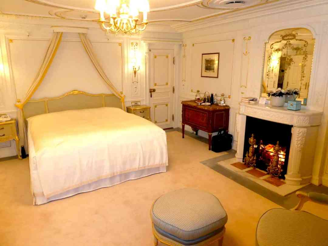 Ms. Post's bedroom on Sea Cloud