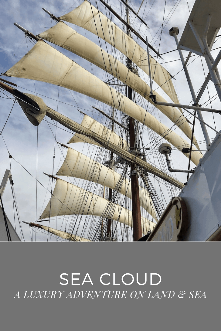 SEA CLOUD PIN