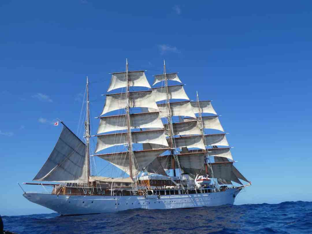 A Land and Sea Adventure: Sea Cloud in the Caribbean