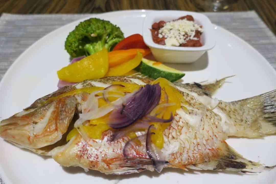 Delicious whole grouper
