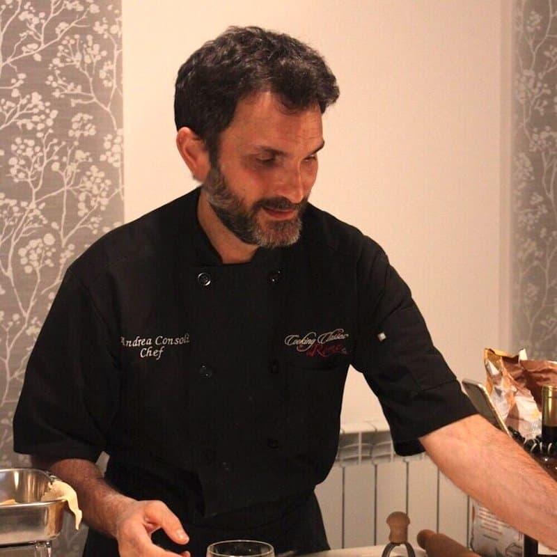 Chef Andrea Consoli