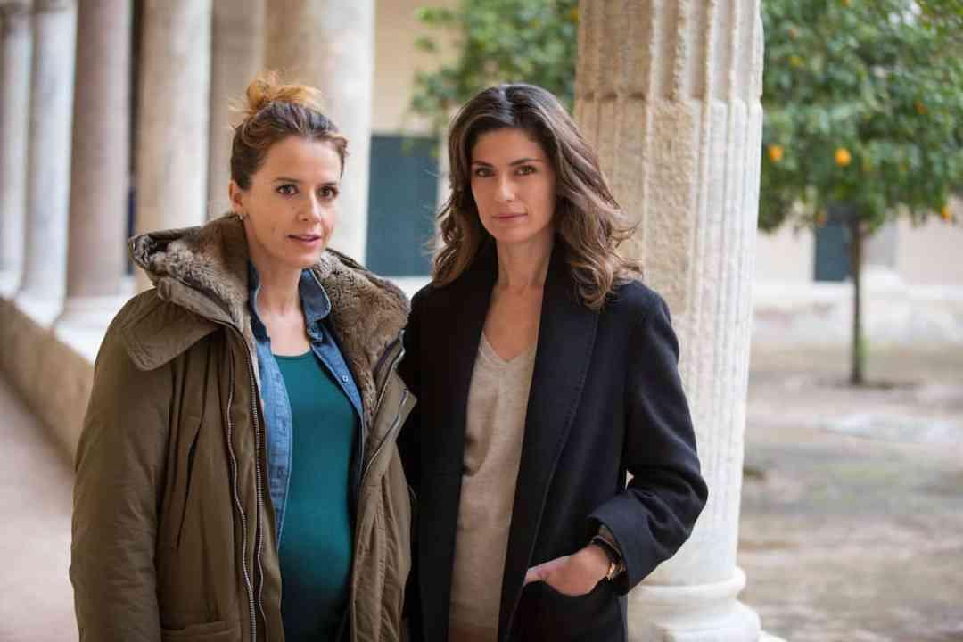 Irene Ferri and Anna Valle (Credit: AcornTV)