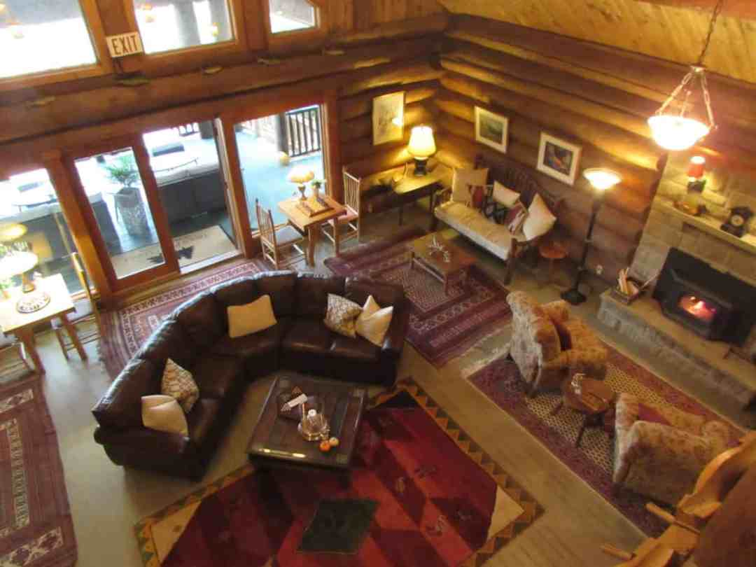 The Great Room at Trout Point Lodge
