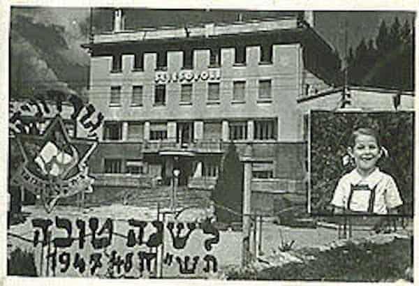 Vintage photo of the Sciescopoli Building (Wikimedia Commons)