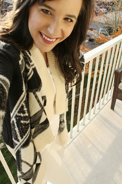 Aztec Cardigan for Fall Outfit Inspiration