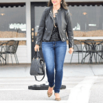 Affordable Faux Leather Jacket for Date Night