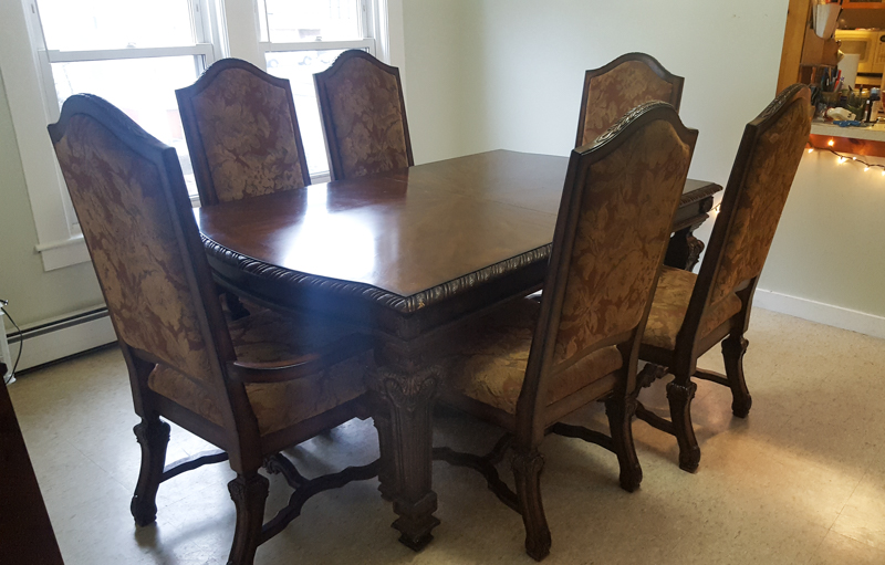Reupholster Dining Room Chairs: Dissassembly | More to Mrs. E