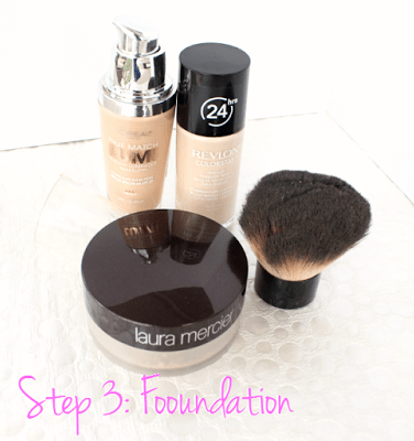 Makeup Tips Step 3 - Foundation Recommendations