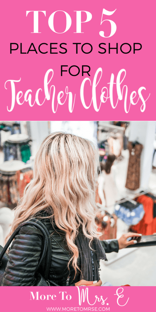 Stores Teacher Clothes Best Shops for Teacher Outfit Style