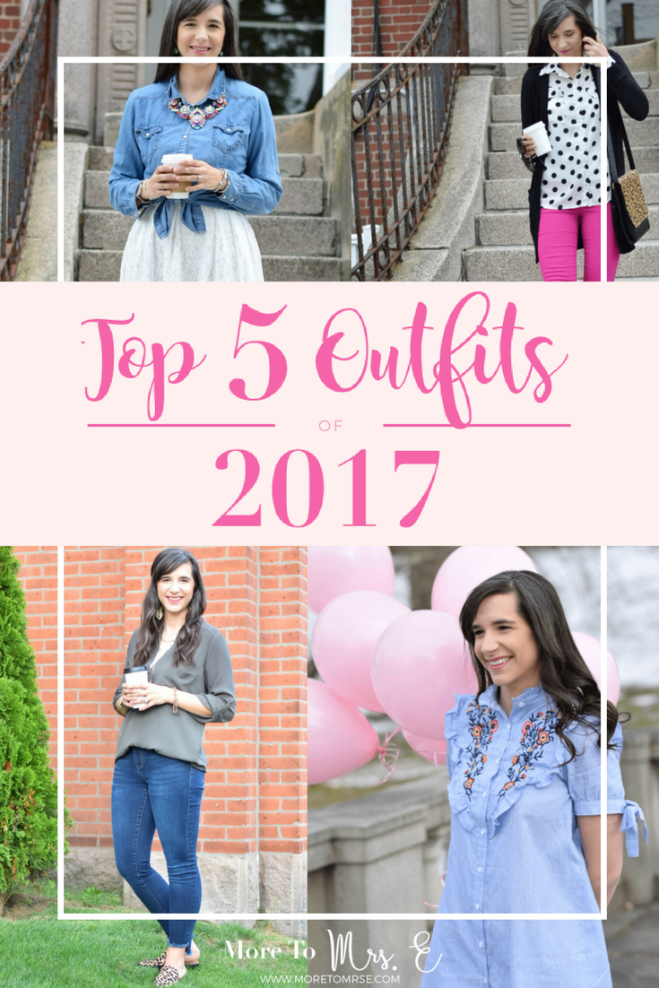 Top 5 Outfit Posts of 2017