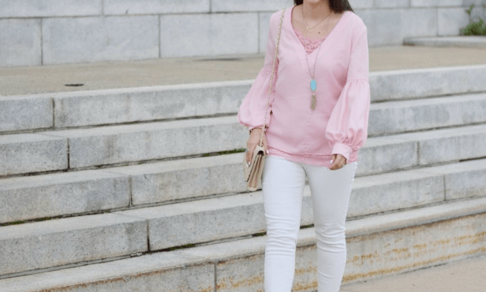 Bishop Sleeve Blouse for the Classroom