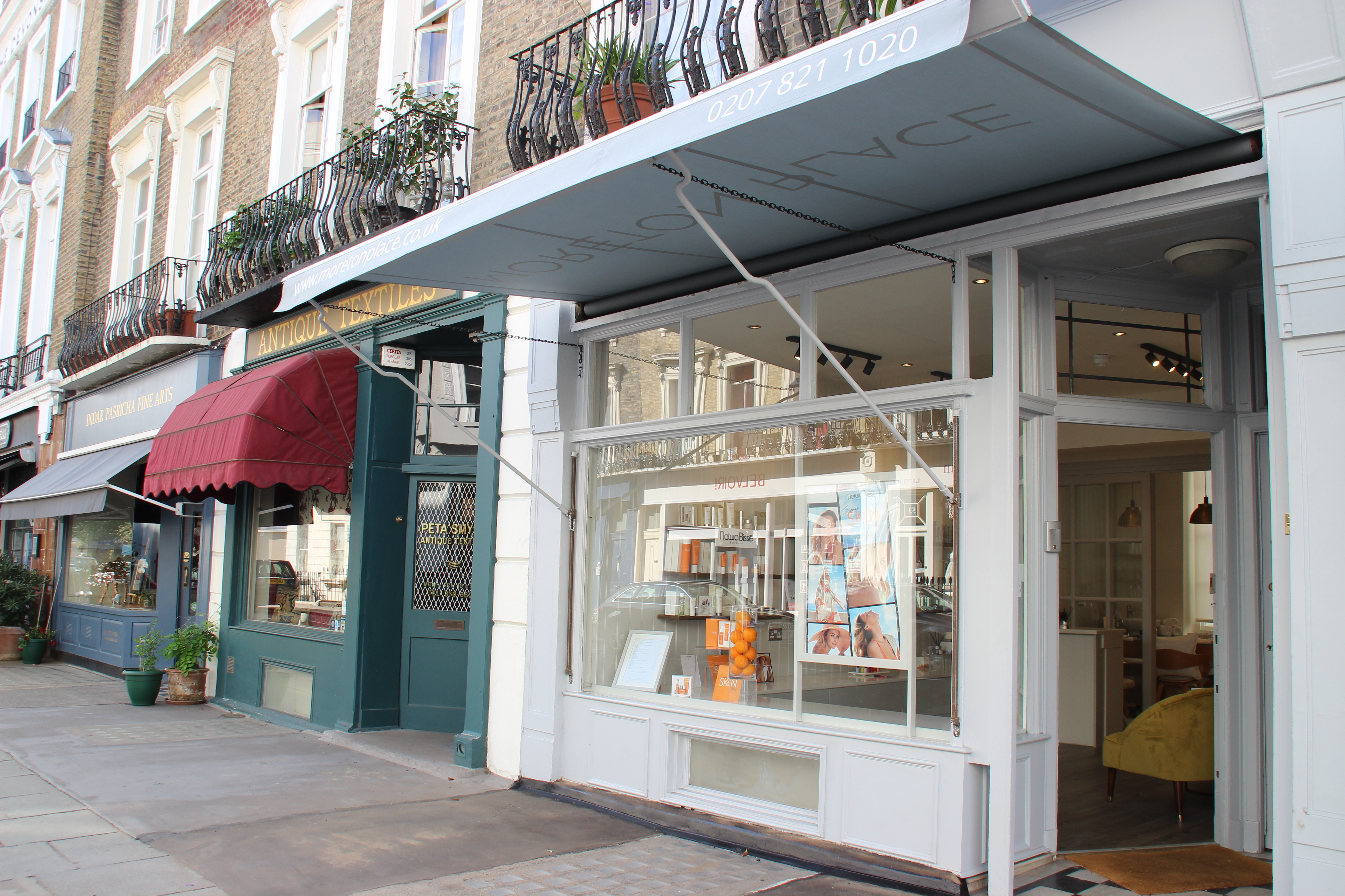 Moreton Place Beauty Wellbeing A Discrete Boutique Spa Tucked Away In Pimlico London