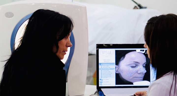 Environ Skin Analysis in action